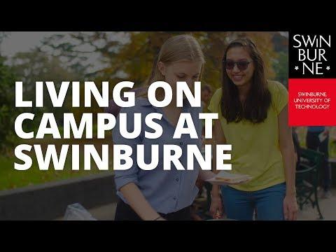 Living on campus at Swinburne