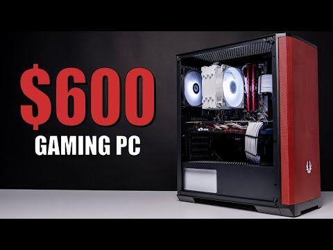 EASY $600 Gaming PC Build Guide! thumbnail