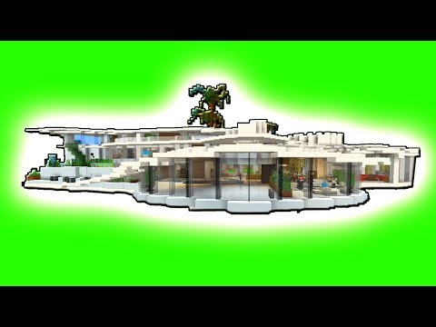 MEGA Krasse Redstone & Command Villa - Minecraft Redstone Haus in Vanilla