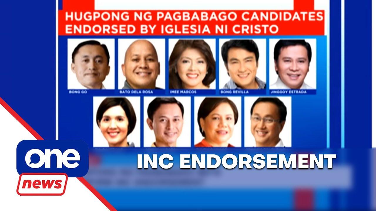 Image result for iglesia ni cristo and senatorial candidates