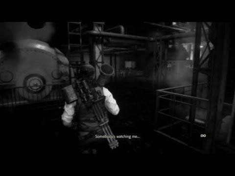 RESIDENT EVIL 2 Minigun vs G1 boss