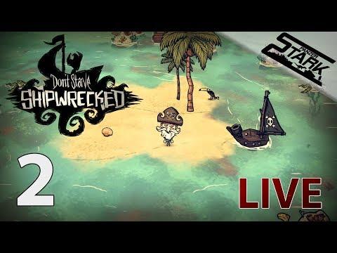 Don't Starve Shipwrecked - 2.Rész (Hajótörött kalandok) - Stark LIVE