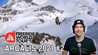 Resumen Freeride World Tour Ordino Arcalis #2 2021