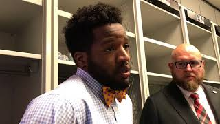 Alfred Morris after the loss to the Vikings