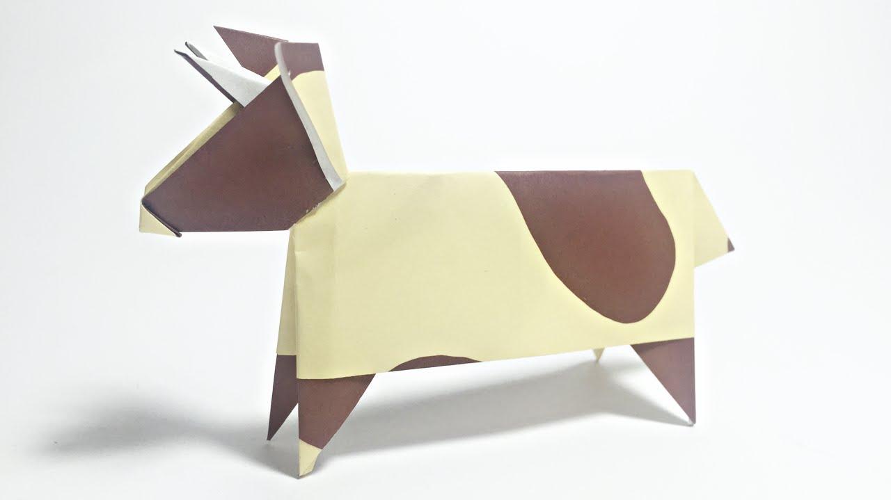 COW ORIGAMI TUTORIAL