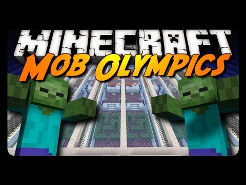 Minecraft: MOB OLYMPICS! (Downloadable Mini-Game)