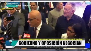 Venezuela. Gobierno recibirá más sanciones si no cede en el diálogo con la oposición -VPItv
