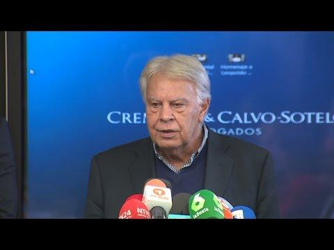Felipe González pide que la OEA tome medidas en Venezuela