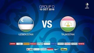 #AFCU19 GROUP D - Uzbekistan vs Tajikistan - News Report