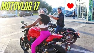 HOT SEXY BIKE BABES X THIRD WHEEL X RIDING WITH GUYS MOTO VLOG 16