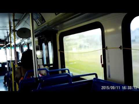 VIA bus route 5O2 in San Antonio, Texas on Friday September 11, 2015
