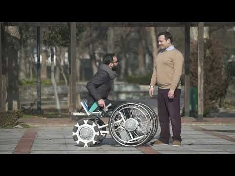 laddroller, the 4x4 standing wheelchair of the future..today