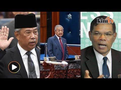 Saifuddin mahu bukti, Dr M jawab MP Umno, Muhyiddin angkat sumpah
