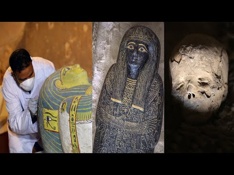 Tomb of Egyptian priest who oversaw embalming of pharaohs discovered
