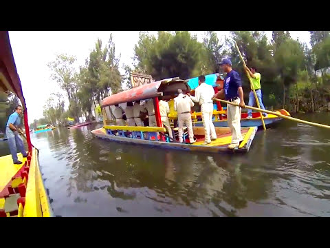 Mexico City Venice-Xochimilco Floating Gardens