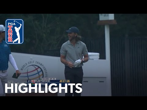 Tommy Fleetwood cards an ace at No. 4 at WGC-Dell Match Play | 2021