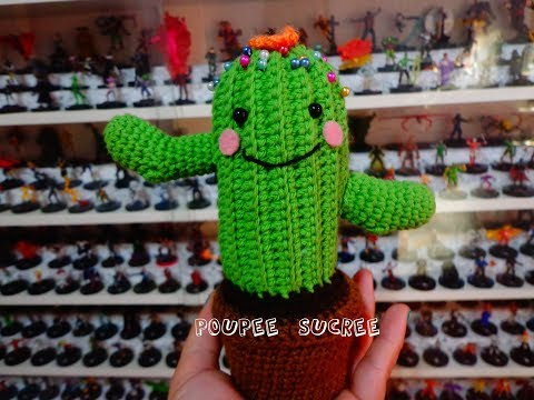 10 Free Crochet Cactus Patterns • Oombawka Design Crochet | 360x480