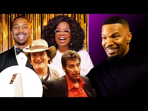 Jamie Foxx's All-Star Impressions, from Oprah to Al Pacino