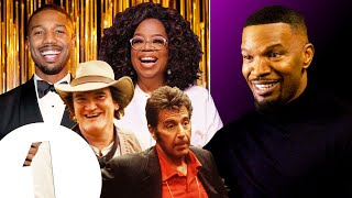 Jamie Foxx's All-Star Impressions, from Oprah and Al Pacino to Quentin Tarantino and more.