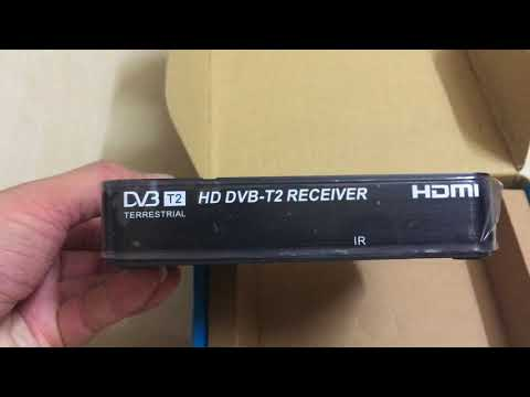 Gtop DVB-T2 Decoder Unboxing MYTV DTTV MYFREEVIEW