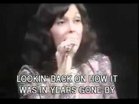 Học tiếng Anh qua bài hát có phụ đề - Carpenters - Yesterday Once More (Karaoke)
