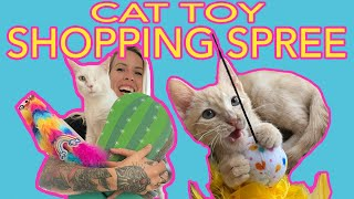 Petsmart Shopping Spree for My Cats!