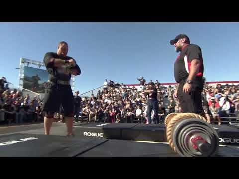 Arnold Pro Strongman Log Press - USA 2019
