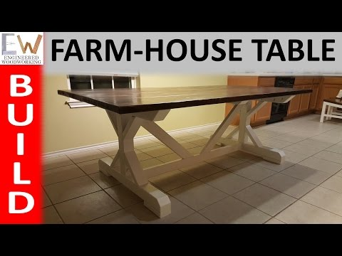 Farm-house Table Design 2