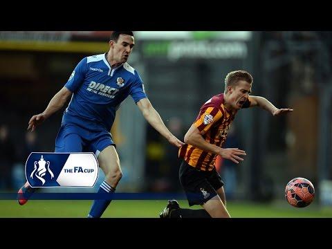 Bradford City 4-1 Dartford - FA Cup Second Round | Goals & Highlights