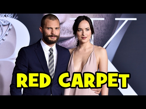 FIFTY SHADES DARKER Premiere Red Carpet - Dakota Johnson, Jamie Dornan, Rita Ora, Kim Basinger