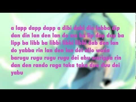 """Ievan Polkka"" Hatsune Miku (lyrics) VOCALOID"