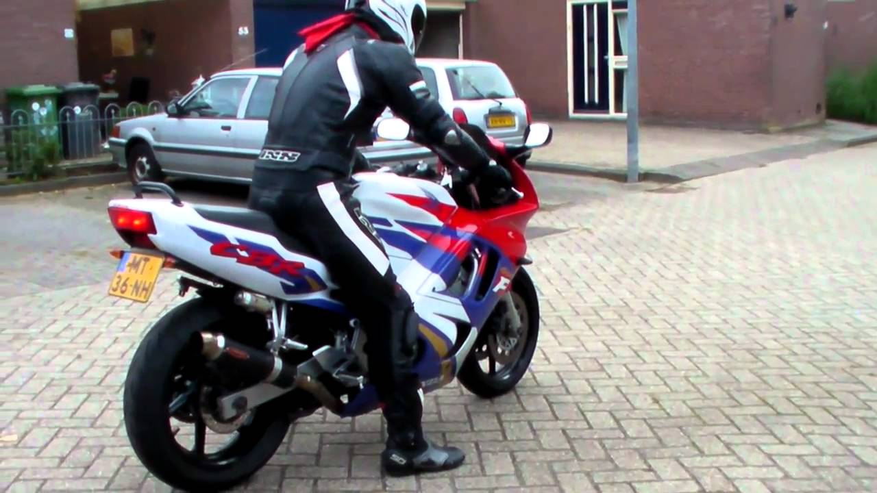Honda Cbr 600 F3 Engine Start Youtube