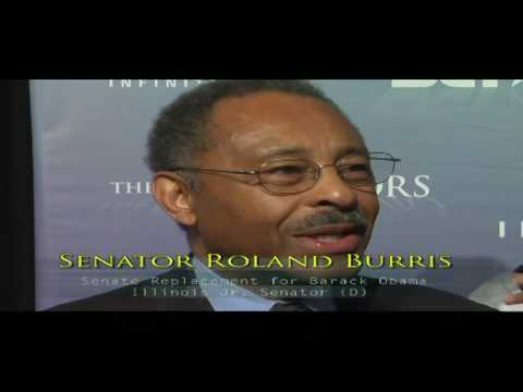 "Senator Roland Burris (D-IL) ""At Least I Am Legal..."" is back in Washington"