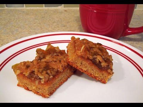 Fig Crumble Bar Recipe by The Deglutenizer