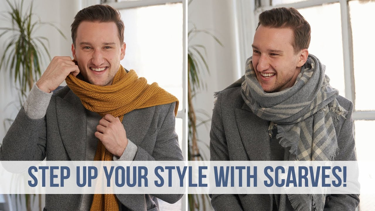 Fashionable Ways to Style 5 Different Scarves this Fall Season   Men's  Fashion - YouTube