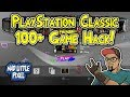 PlayStation Classic 100+ Game Hack Mod! BleemSync Hack In Action!