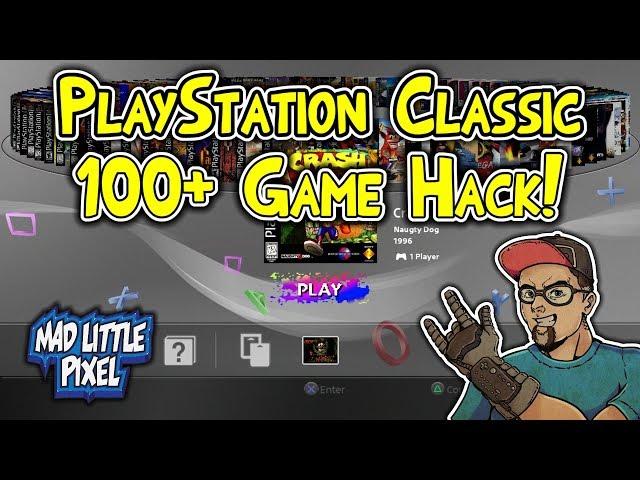 طريقة سهلة لنقل 104 لعبة سوني 1 الى playstation classic