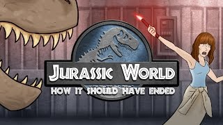 One of How It Should Have Ended's most viewed videos: How Jurassic World Should Have Ended
