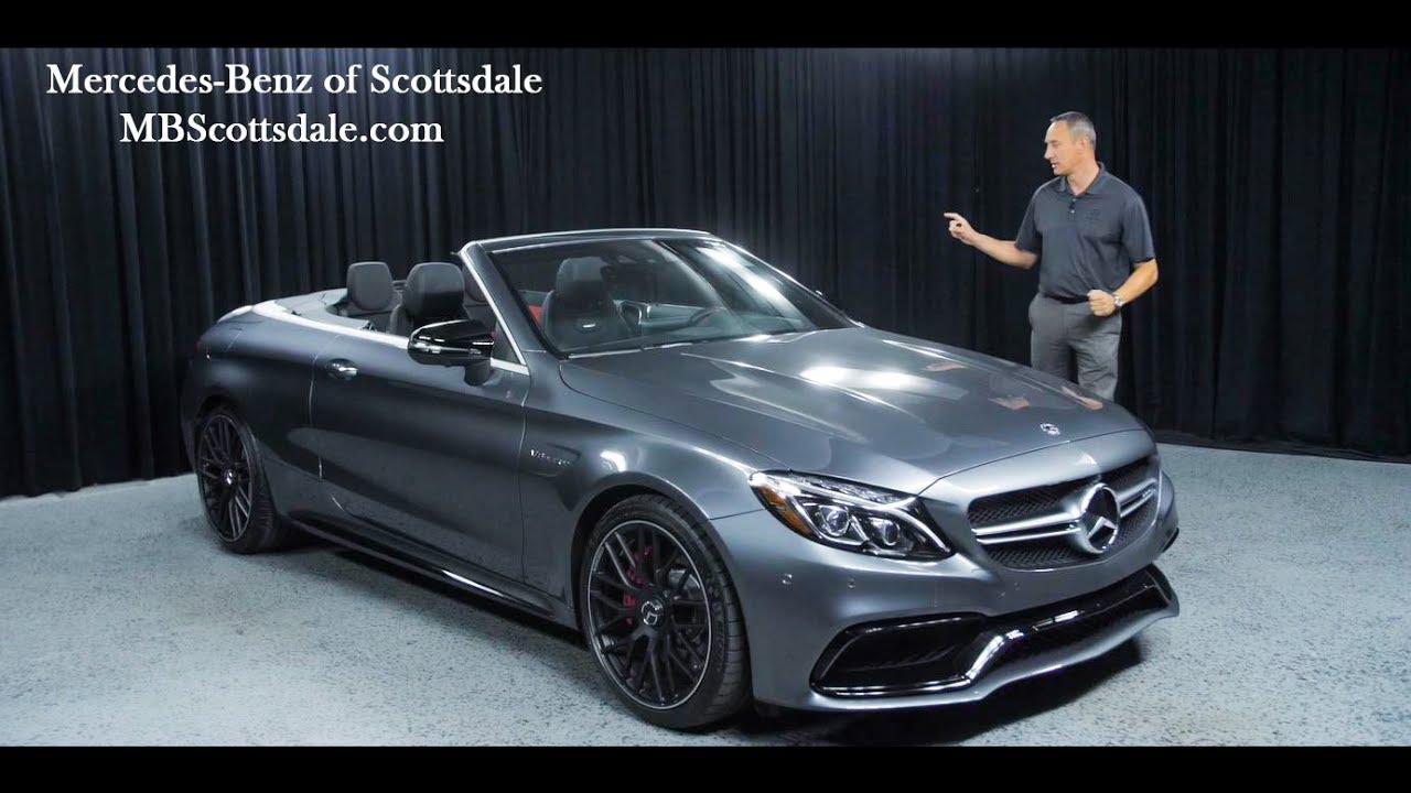 2018 Amg C63 S Walkaround Mercedes Benz C 63 Cabriolet From Of Scottsdale