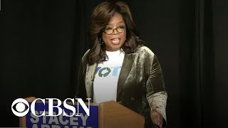 Oprah campaigns for Stacey Abrams in tight Georgia governor\'s race