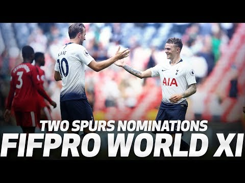 HARRY KANE AND KIERAN TRIPPIER SHORTLISTED FOR FIFA FIFPRO WORLD XI