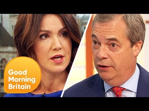 Nigel Farage Says He Supports the Fish Dump Brexit Protest | Good Morning Britain