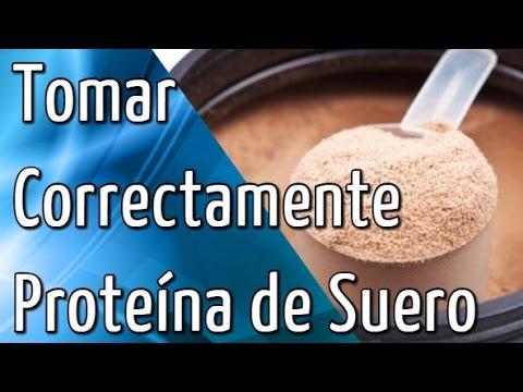 Consejos para Tomar Correctamente la Proteína de Suero