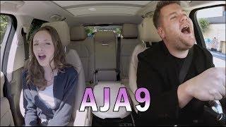 Carpool Karaoke with James Corden & Aja9