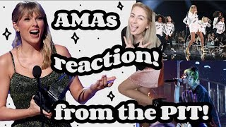 i went to the AMAs! (seeing Taylor Swift from the pit!) Video
