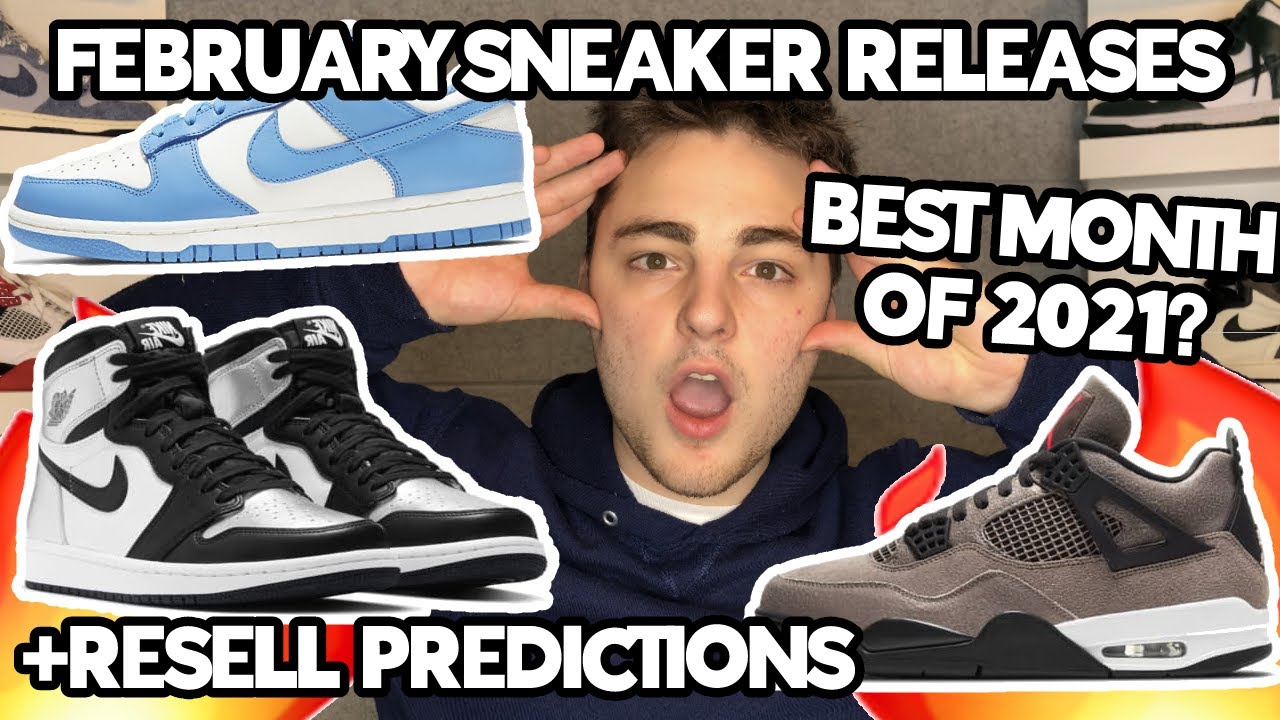 FEBRUARY SNEAKER RELEASES PART 2!!! UPCOMING SNEAKER RELEASES!!!