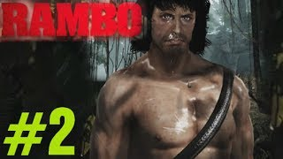 Rambo The Video Game Walkthrough Chapter 2 1985 Rambo Videogame 2014 Gameplay Part 2