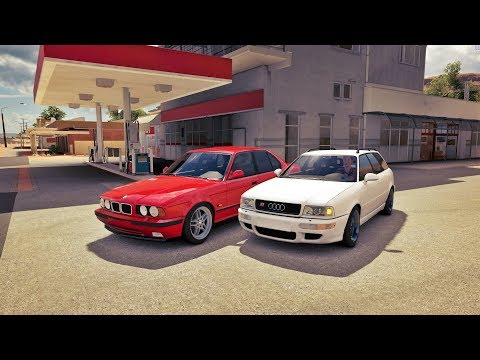 Forza Horizon 3 Online - BMW M5 VS Audi RS 2 Avant ( Motores Originais Modificados )