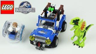 LEGO JURASSIC WORLD 75916 ÜBERFALL DES DILOPHOSAURUS  ★ LEGO Speed Build/Review [Deutsch]