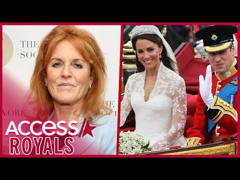 Sarah Ferguson On Kate Middleton & Prince William Wedding Invite Snub